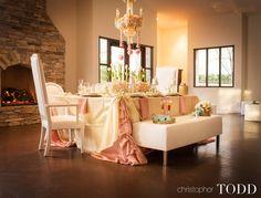 orange county wedding photographer san juan capistrano serra plaza wedding details table
