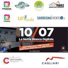 Condividere la notte, arricchire la Cultura: la Notte Bianca digitale in bici nel quartiere Castello di Cagliari #NBTW
