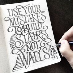Inspirational Quotes about Work : 38 Calligraphy Quotes About Inspirational Of The Best 29 Typography Letters, Typography Poster, Typography Quotes, Great Quotes, Me Quotes, Sunset Quotes, Author Quotes, Lyric Quotes, Attitude Quotes