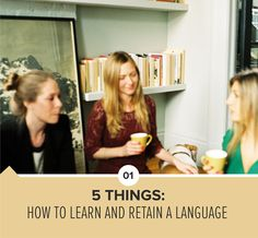 How to Learn a Language in 5 steps!