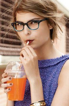 kate spade new york 'rebecca' reading glasses  68$