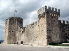 Festung Kamerlengo in Trogir, Kroatien