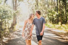 Natural Engagement Photos Newcastle - Emma+Tim - Curly Blog