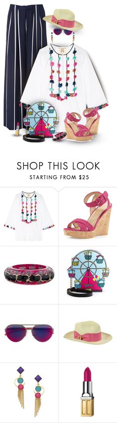 """""""Taking a Small Sanity Break from Packing"""" by franceseattle ❤ liked on Polyvore featuring Figue, Stuart Weitzman, Chanel, Betsey Johnson, Mykita, Tory Burch, Belsi's Collection and Elizabeth Arden"""