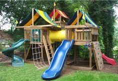 Jungle Fort Campus Tower Playground, WOW!