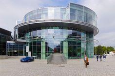 HENN Audi Museum Mobile Ingolstadt, DE Completion 1998 - 2000