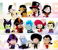 i_love_disney_villains_by_y_yuki-d7ng2fj.png 963×830 pixels