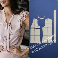 27 elegant photo of custom sewing patterns – ArtofitImage gallery – Page 585186545310949913 – Artofit Diy Clothes Patterns, Dress Sewing Patterns, Blouse Patterns, Blouse Designs, Sewing Blouses, Make Your Own Clothes, Top Pattern, Pants Pattern, Dressmaking