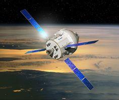 Proposal for a Multi-Purpose Crew Vehicle-Service Module (MPCV-SM). The image was released Nov. 21, 2012.