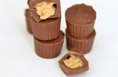 Homemade mini peanut butter cups recipe - goodtoknow