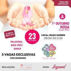 Eventos, Beagá Mães, Outubro Rosa, Belo Horizonte