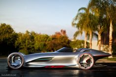 2011 MB Silver Arrow Concept Side View ... Whew!