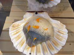 Tuétano de ternera con caviar y coliflor