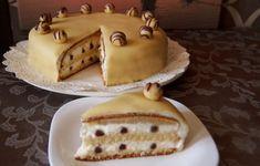Fehér csokoládés marcipántorta – Ceruzabab
