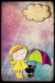 u look like rain ♥