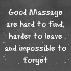 Good Massage is Hard to Find, Harder to leave & impossible to Forget. svmassagetherapy.com