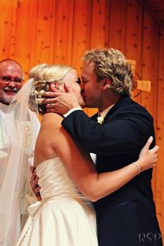 Everyone deserves this happiness. #weddingkiss #ido wedding photo