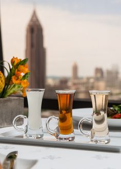 Join us Thursday nights at the Nikolai's Roof Lounge or in our dining room for a sampling of our in-house infused flavored Vodkas. Flavors include: Lemon, Lime Cinnamon, Pepper Corn, Tea & Orange, Peach and Caramel. Enjoy a flight of 3 for $19.95