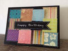 Scrap i Pebre: Tarjeta de cumpleaños - Happy Bday Card