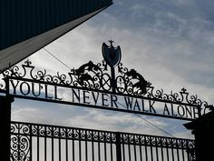 """""""You'll Never Walk Alone"""", Shankly Gates, Anfield, Liverpool by AndyNugent, via Flickr"""