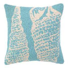 Double Seashell Pillow