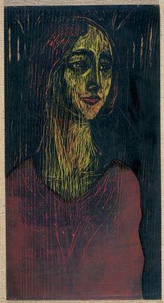 Edvard Munch, woodcu