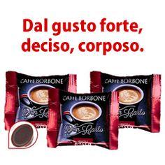 100 CAPSULE COMPATIBILI A MODO MIO CAFFÉ BORBONE DON CARLO ROSSA
