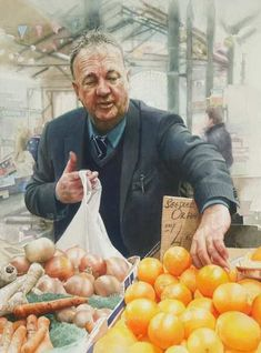John Cooney, Irish artist, Antrim Watercolor Paintings, Original Paintings, Watercolour, Irish Art, Hyperrealism, Saatchi Art, Art Gallery, Ireland, Shops