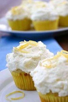 Springtime Lemon Cupcakes Recipe