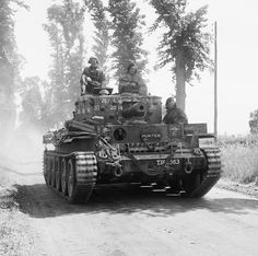 in Centaur IV tank with howitzer from Royal Marine Armoured Support Group Cromwell Tank, Tank Warfare, Ww2 Photos, Armored Fighting Vehicle, Royal Marines, Ww2 Tanks, War Photography, World Of Tanks, Battle Tank