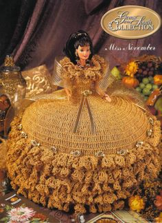 GEMS OF THE SOUTH COLLECTION -  MISS NOVEMBER crochet pattern