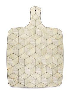Ivory Cheese Board White Cheese Platter Modern by EInderDesigns
