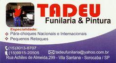 TADEU FUNILARIA E PINTURA