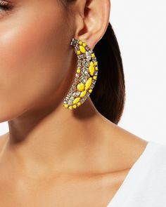 Shourouk Banana Earrings | LuckyShops