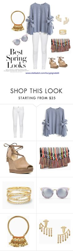 """""""Thinking Spring!"""" by lucypignatelli on Polyvore featuring rag & bone, Chicwish, MICHAEL Michael Kors, Stella & Dot and H&M"""
