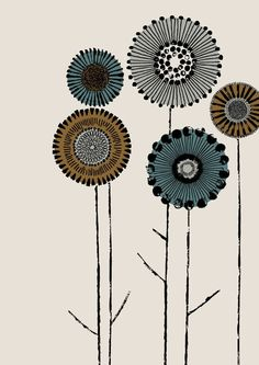 Printmaker Placement limited edition giclee print by EloiseRenouf on etsy. Keramik Design, Graphic, Printmaking, Flower Art, Line Art, Folk Art, Giclee Print, Print Design, Art Drawings