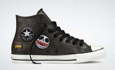 Gorillaz And Converse Team Up For Chuck Taylor Hi Motorcycle Jacket Sneakers (Photos) - Refined Guy#2