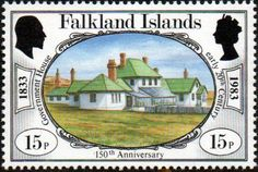 Falkland Islands 1983 150th Anniversary of British Administration SG 443 Fine Mint SG 443 Scott 364 Condition Fine MNH Only one post charge applied