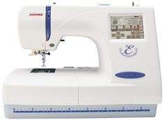 Janome Memory Craft 300E Embroidery/Sewing Machine by HRHTreasures