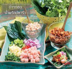 Authentic Thai Food, Thai Recipes, Cobb Salad, Potato Salad, Potatoes, Menu, Menu Board Design, Potato, Thai Food Recipes
