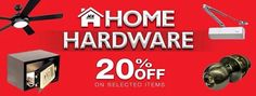 Check out The ACE Hardware HOME HARDWARE SALE!  Enjoy up to 20% OFF on great selection of items!  Promo available until September 30, 2016 in all ACE Hardware Stores nationwide!  For more promo deals, VISIT http://mypromo.com.ph! SUBSCRIPTION IS FREE! Please SHARE MyPromo Online Page to your friends to enjoy promo deals!