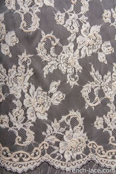 Pearl 90 B ivory #frenchlace