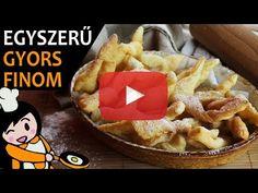 Csörögefánk (Forgácsfánk) - Recept Videók - YouTube