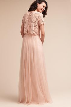 Shop unique and affordable bridesmaids dresses at BHLDN. Browse different bridesmaid dress colors and lengths with convertible styles in colors and ways to wear! Different Bridesmaid Dresses, Affordable Bridesmaid Dresses, Bridesmaid Dress Colors, Wedding Bridesmaid Dresses, Crop Top Dress, Lace Top Dress, Gala Dresses, Blush Dresses, Dressy Tops