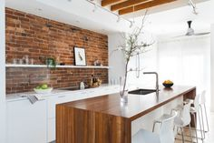 A Young Couple's Boston-Area Kitchen Overhaul with Bosch Appliances - Remodelista