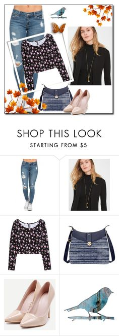 """Bez naslova #180"" by laura-1234 ❤ liked on Polyvore featuring White House Black Market, H&M and Baggallini"
