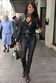 Staying strong: Lizzie Cundy, seen at the May Fair Hotel earlier this month,