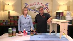 How To Hand Apply General Finishes Water Based Wood Stain