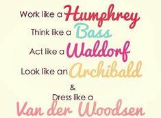 New motto? I think so...haha, oh my gossip girl addiction!