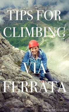 Top tips from @insidetravellab for climbing Via Ferrata in the Italian Dolomites. http://www.insidethetravellab.com/life-on-the-high-wire-via-ferrata-klettersteig/